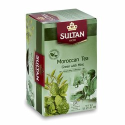 Authentic Moroccan Tea - Green Tea with Mint - 20 Tea Bags