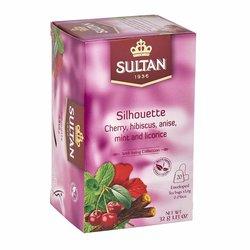 'Silhouette' Cherry, Hibiscus, Anise, Mint & Liquorice Tea - 20 Tea Bags
