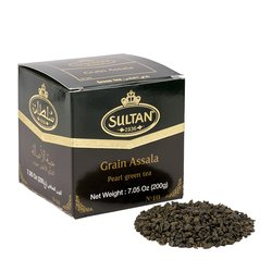 Grain Assala Green Tea Pearls 200g