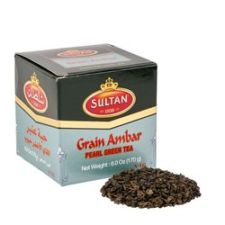 Grain Ambar Pearl Green Tea 170g