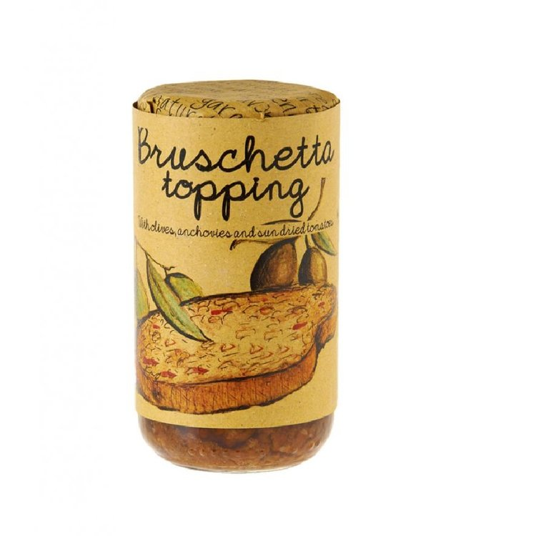 Olive, Anchovy & Sun-Dried Tomato Bruschetta Topping 180g