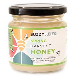 Spring Harvest Honey by Buzzy Blends 200g - Unpasteurised Raw Honey