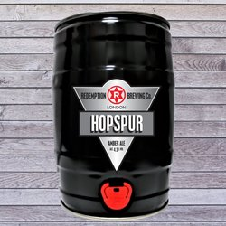 Hopspur Amber Ale 5ltr 4.5% ABV - Mini Keg Beer by Redemption Brewing