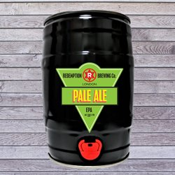 Pale Ale 5ltr 3.8% ABV - Mini Keg Beer by Redemption Brewing