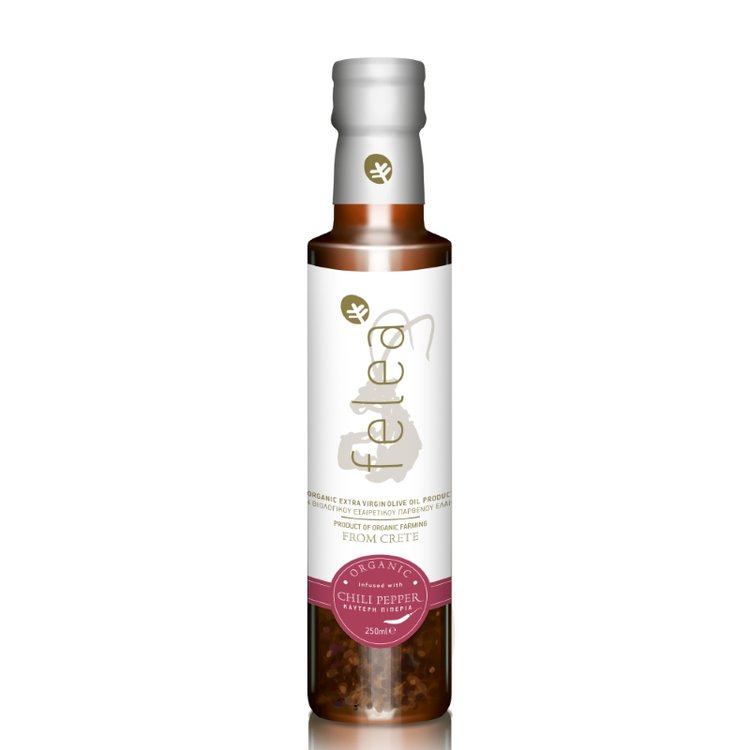Organic Extra Virgin Olive Oil with Chilli 250ml