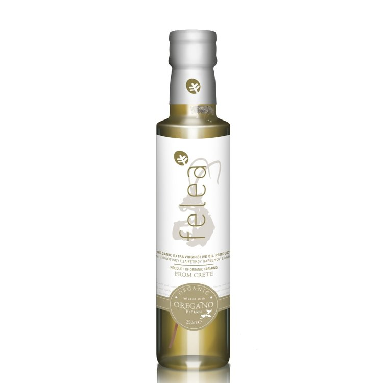 Organic Extra Virgin Olive Oil with Oregano 250ml