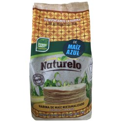 Harina De Maiz Azul (Blue Corn Flour) by Naturelo 1kg