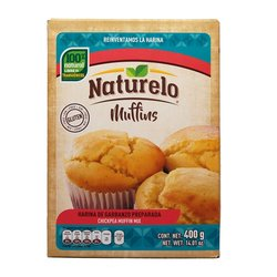 Chickpea Muffins Mix 400g - Gluten-free Muffin Mix by Naturelo