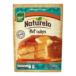 Chickpea Pancakes Mix 420g - Gluten-free Pancake Mix by Naturelo