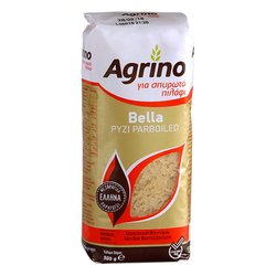 2 x Agrino 'Bella' Parboiled Rice 500g - Easy Cook Rice