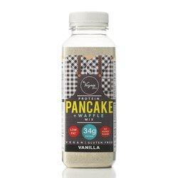 Vanilla Vegan Protein Pancake & Waffle Mix by The Vegain Bros 180g - Gluten-free Baking Mix