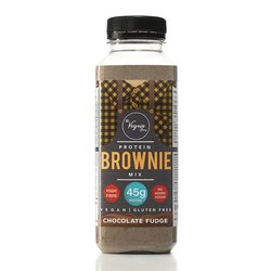 Chocolate Fudge Protein Brownie Mix by The Vegain Bros 180g - Gluten-free Vegan Baking Mix