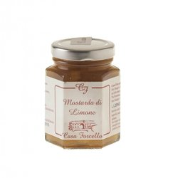 Italian Lemon Fruit Mustard (Condiment for Cheese & Meats) 120g