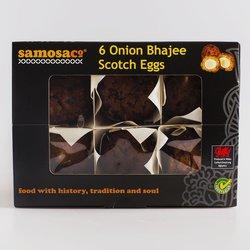 6 Onion Bhajee Scotch Eggs by SamosaCo 168g