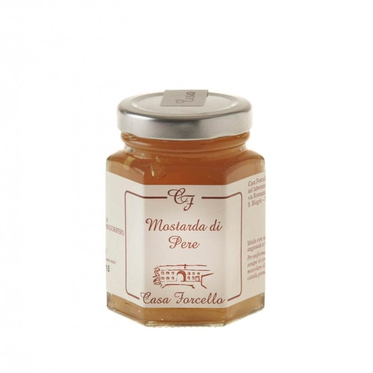 Italian Pear Fruit Mustard (For Cheese and Charcuterie Boards) 120g