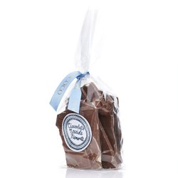 Broken Hazelnut Milk Chocolate Shards by Rococo Chocolates 150g