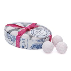 White Chocolate Pink Marc de Champagne Truffles Gift Box 130g