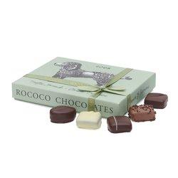 'Truffle Hound' Chocolate Truffles Gift Box by Rococo Chocolates 110g