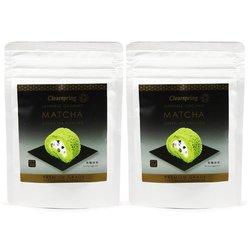 Organic Matcha Green Tea Powder - Premium Grade 2 x 40g