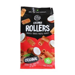 Original Coconut Rollers by The Coconut Company 85g - Gluten-free Coconut Snack