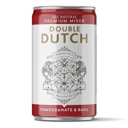 24 x Pomegranate & Basil Double Dutch Mixers 150ml Cans