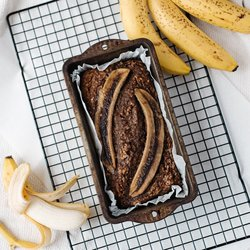 Spiced Vegan Gluten-free Banana Bread 875g