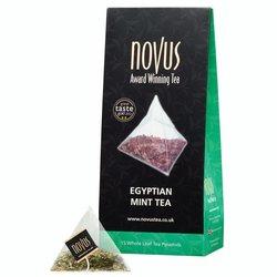Egyptian Mint Tea by Novus Tea - 15 Tea Pyramids