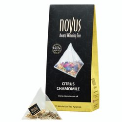 Citrus Chamomile Tea by Novus Tea - 15 Tea Pyramids