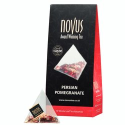 Persian Pomegranate Tea by Novus Tea - 15 Tea Pyramids