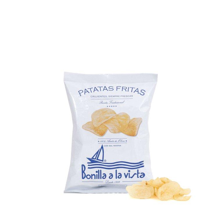 10 x Olive Oil & Sea Salt Crisps 'Patatas Fritas' 50g Packs