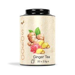 Ginger Tea Bags by SoYoo - 20 Tea Bags