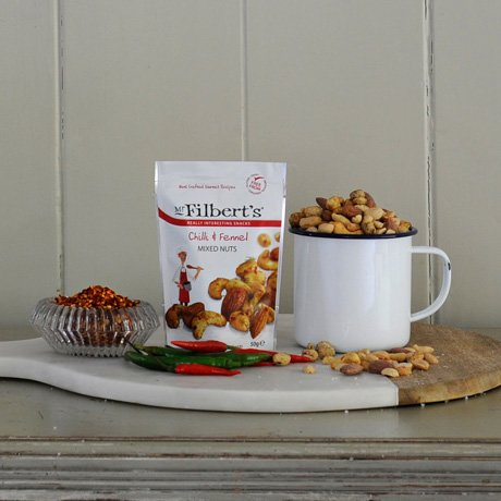 Chilli & Fennel Mixed Nuts 3 x 50g