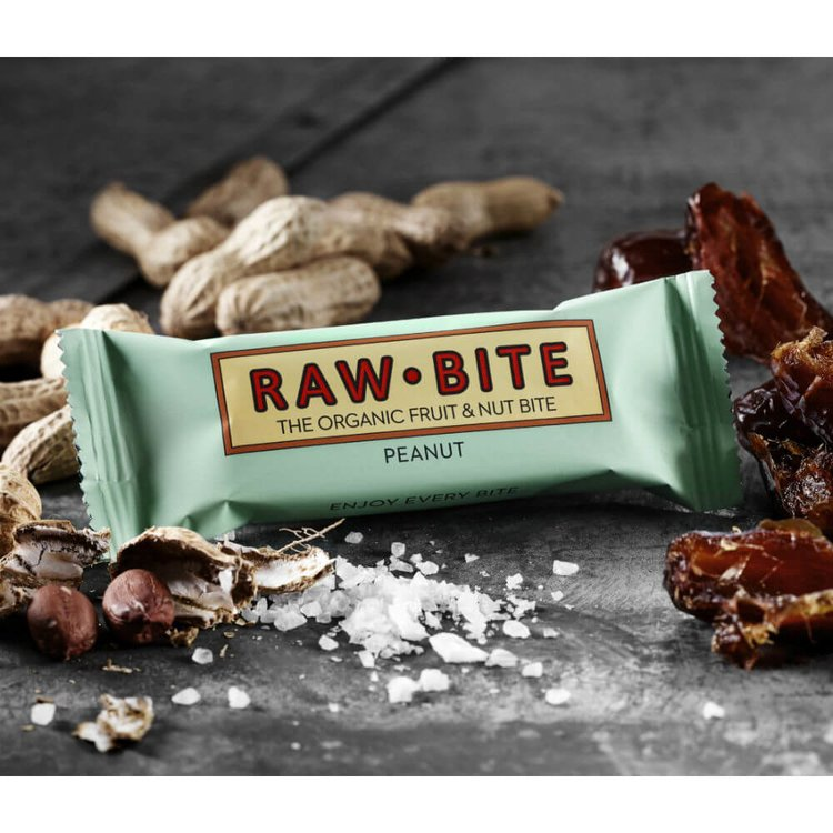 Organic Peanut Bars 12 x 50g