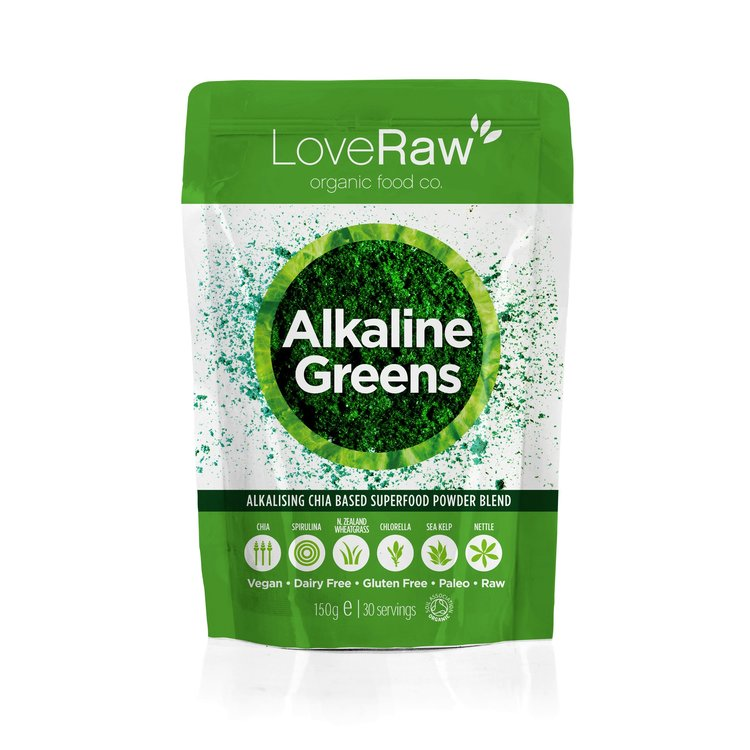 Alkaline Greens - Organic Superfood Powder Blend 150g