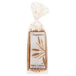 Omega 3 Breadsticks (Grissini) by Organico 120g