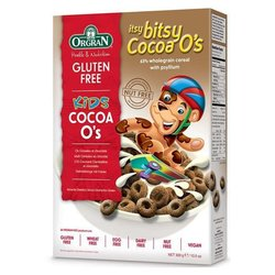 Orgran Itsy Bitsy Cocoa O's 300g - Gluten-free Kids Cereal