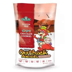 Orgran Outback Animals Chocolate Cookies 170g