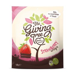 The Giving Tree Freeze-dried Strawberry Crisps 18g