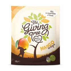 The Giving Tree Mango Crisps 18g - Freeze-dried Fruit Crisps