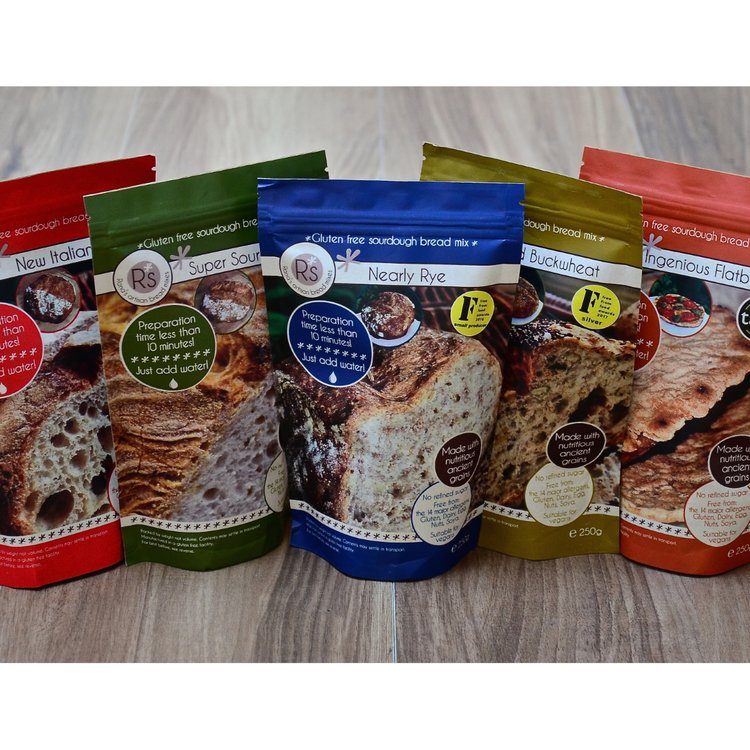Gluten-Free Sourdough Bread Mix Taster Pack