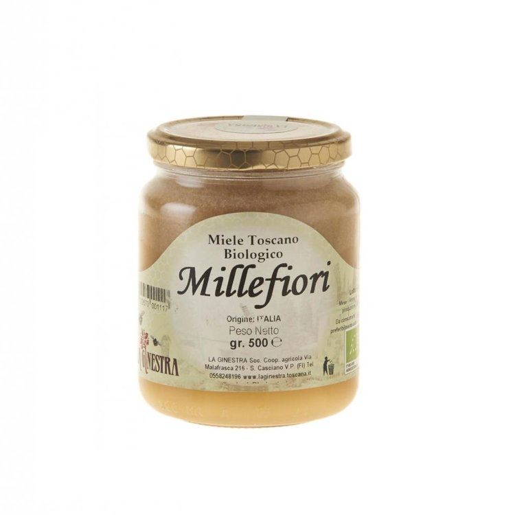 Organic millefiori honey 8qli