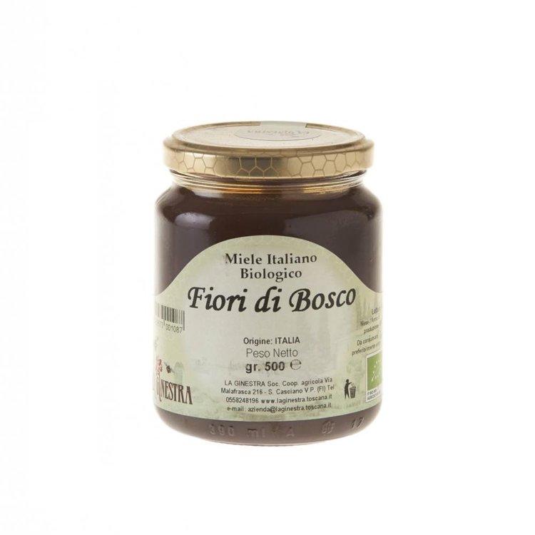 Organic fruits of the forest honey dkln