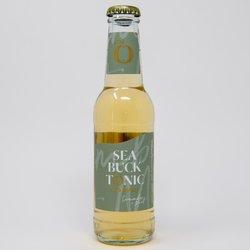 12 x Cucumber & Mint Tonic Water by Sea Buck Tonic 200ml - Cornish Tonic Water