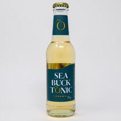 12 x Dry Tonic Water by Sea Buck Tonic 200ml - Cornish Tonic Water