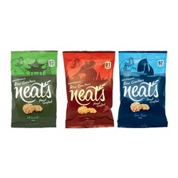 Neat's Mixed Rice Crackers Selection 10 x 20g