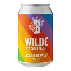12 x Wilde East Coast Pale Ale by Bedlam Brewery 330ml 4.4% ABV