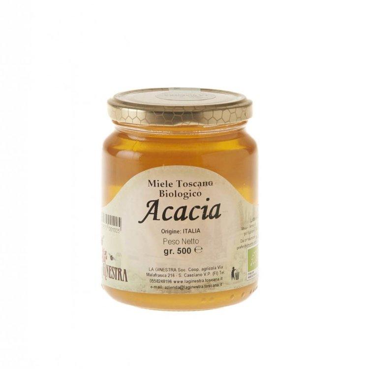 Organic Acacia Honey 500g