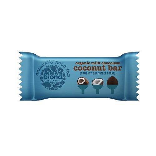 Organic Milk Chocolate Coconut Bar 24 x 40g