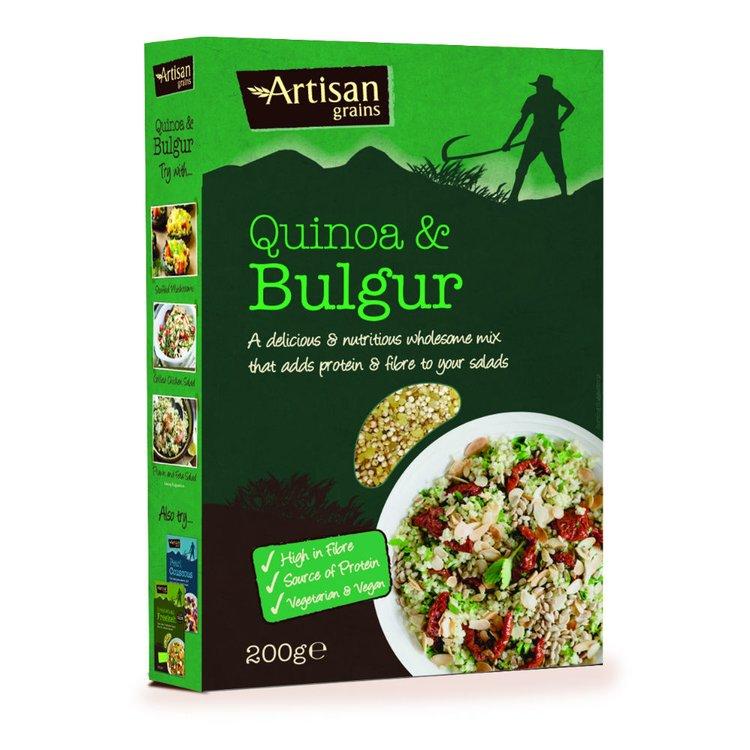 Quinoa bulgur