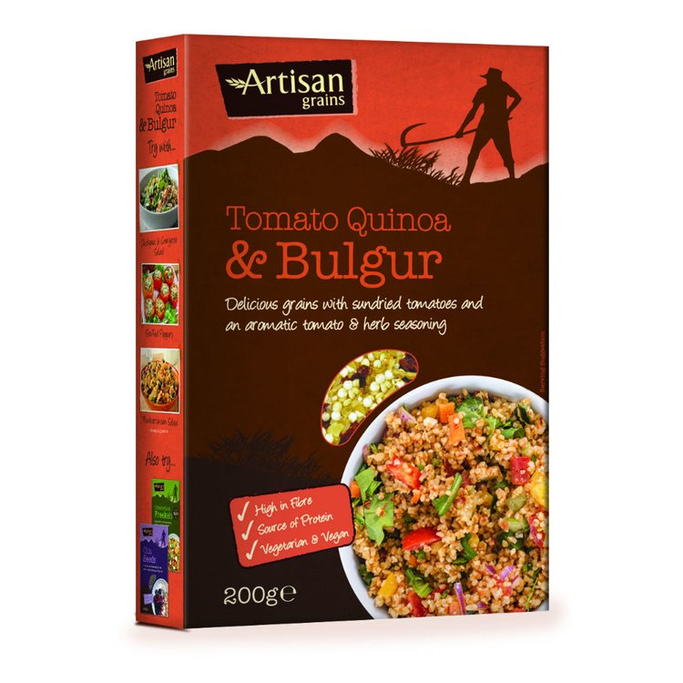 Tomato, Quinoa & Bulgur Wheat Grains 200g